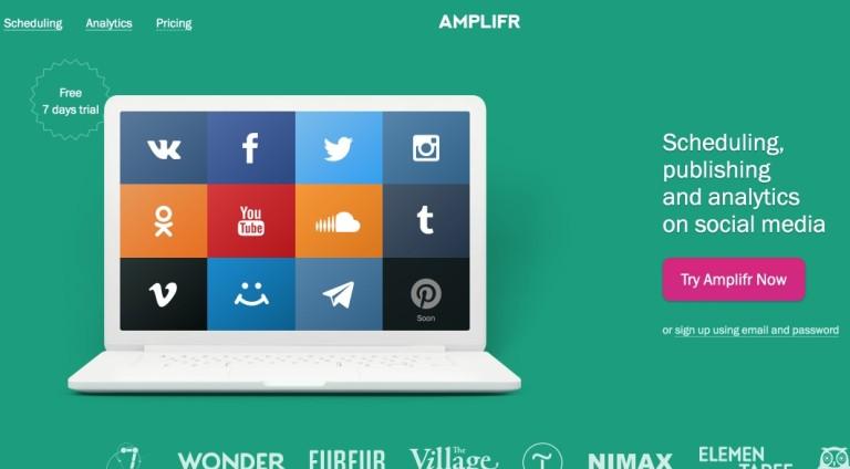 Gérer simplement son social media avec Amplifr